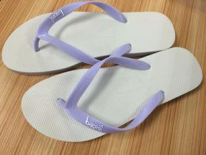High Quality Plain Colors Rubber Flip Flops pictures & photos