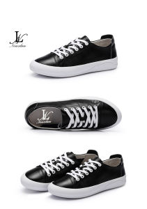 Two Color PU Casual Shoes (CAS-028)