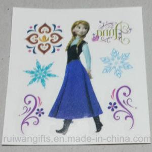 Wholesale New 5X5cm Frozen Tattoo Sticker, Children Cartoon Stickers pictures & photos