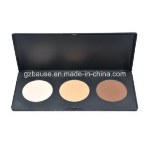 OEM 3 Color Wholesale Contour Face Powder Palette