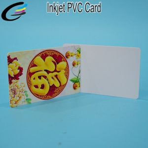 0.76mm Thickness White Inkjet Printable PVC Business Card Factory pictures & photos