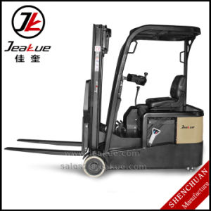 High Cost Performance AC Motor 1t Three Wheels Electric Forklift pictures & photos
