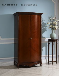 High Quality Classical Wooden Furniture Wardrobe