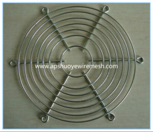 PVC Coated Metal Wire Mesh Fan Guard pictures & photos