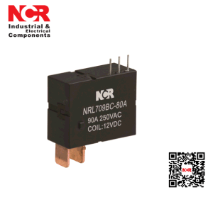 9V 80A Switching Capability Magnetic Latching Relay (NRL709BC-80A) pictures & photos