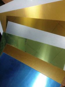 1mm Thick Sublimation Aluminum Sheets pictures & photos
