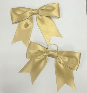 Gold Christmas Decoration Simple Bows pictures & photos
