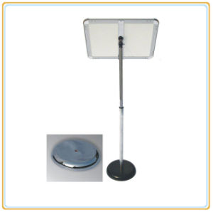 Retractable Snap Frame Poster Stand/Metal Display Stand pictures & photos