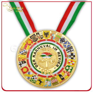 Custom Carnival Festival Gold Plated Medal for Souvenir Gift pictures & photos