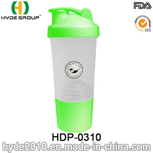500ml PP BPA Free Plastic Protein Shake Bottle, Plastic Shaker Bottle (HDP-0310) pictures & photos