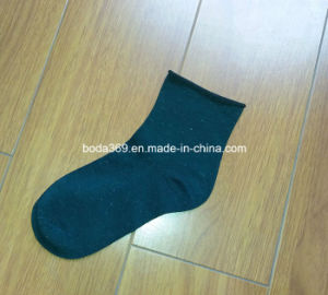 Ladies 200n Fashionable Rolled Welt No Elastic Hand Link Toe Socks