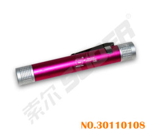 Suoer Flashlight Red Torch Pen (SS-5003) pictures & photos