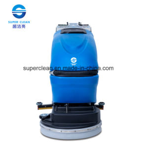 Auto Floor Cleaning Machine with Battery or Cable (SC-461C) pictures & photos