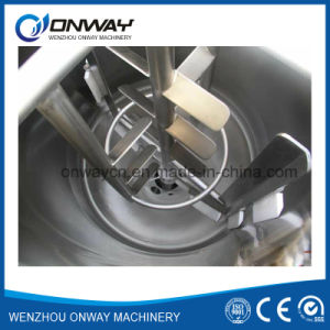 Factory Price Agitator Stirring Jacket Emulsification Stainless Steel Industrial Liquid Mixer Blender pictures & photos