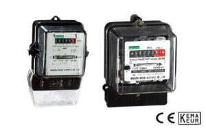 Single Phase Induction Energy Meter Series pictures & photos