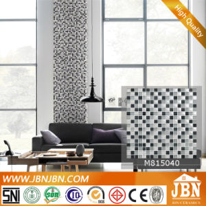 Customized Size Glass Mosaic and Stone (M815040) pictures & photos