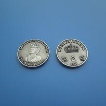 Antqiue Silver 2 Pounds Metal Coins as Souvenir 2015 pictures & photos