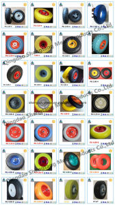 All Size PU Flat Free Wheel pictures & photos