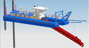 Cutter Suction Dredge with Dredging Depth of Minimum 15 Meters (LDCSD350) pictures & photos