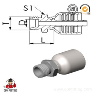 Metric Male 24union/ Integrated Hose Fitting (10511Y) pictures & photos
