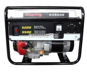 Kusing Ks5500 Open Gasoline Generator pictures & photos