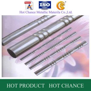 SUS 304 Stainless Steel Embossing Round Pipe pictures & photos