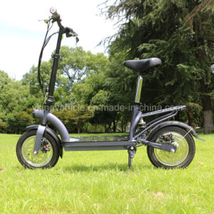"High Speed 300W Folding 12"" Electric Scooter for Adult (ES-1202) pictures & photos"