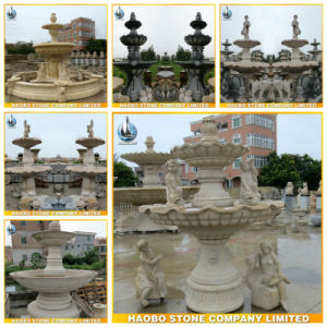 Ornaments Outdoor Stone Garden Water Fountain pictures & photos