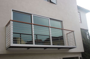 Balcony Stainless Steel Fence Wire Railing pictures & photos