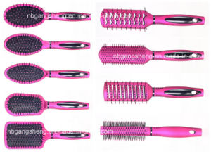 Curved Massage Hair Brush Vent Brush for Salon pictures & photos