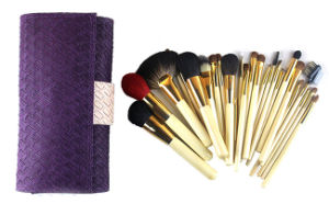 26PCS High-Grade Birch Wood Handle Animal Hair Professional Makeup Brush pictures & photos