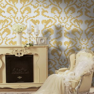 Mosaico Picture Bisazza Mosaic Golden Mosaic Background Mosaic Mural pictures & photos
