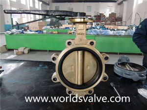 C95800 Lug Connection Butterfly Valve pictures & photos