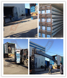 3500mm High 4 Post Parking Lift (AAE-FP235.3500) pictures & photos