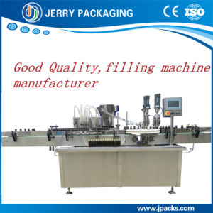 Automatic Pharmaceutical Syringe Liquid Filler and Capper for Glass Bottle pictures & photos