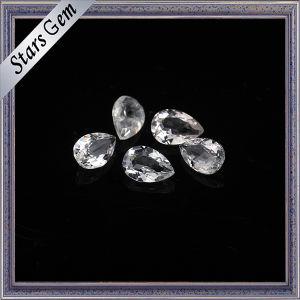 Brilliant Natural Cut Semi Precious White Topaz Gemstone pictures & photos