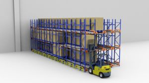 Warehouse Steel Shuttle Pallet Racking pictures & photos