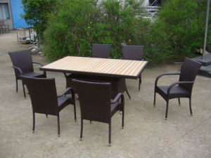 2-Years of Warranty Hotel Garden Outdoor Patio Dining Furniture (FS-2051+2053) pictures & photos