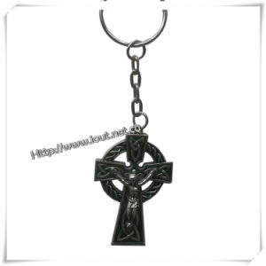 Religious Wholesale Keychains, Cross Key Chains (IO-ck088) pictures & photos