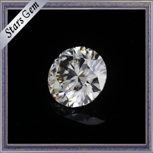 Excellent Diamond Cut Vvs Clear White Moissanite for Fashion Jewelry pictures & photos