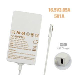 2015 New Product for MacBook Charger 60W 16.5V 3.65A