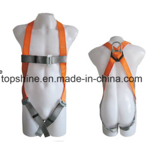 Good Quality Professional Adjustable Working Polyester Full-Body Safety Harness Belt pictures & photos