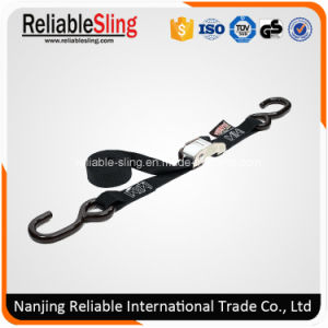 """1"""" Motorcycle Bike Metal Cam Buckle Strap with S Hooks pictures & photos"""