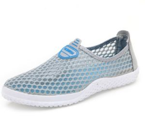 Casual Mesh Shoes Slip-on Breathable Footwear for Men Shoe (AKMS1) pictures & photos