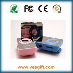 Promotional Mini Mirror Music MP3 Player Gift 2016 pictures & photos