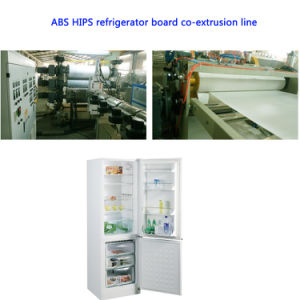 Co-Extrusion ABS HIPS PMMA Sheet Board Making Machine pictures & photos