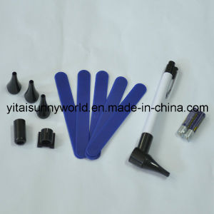 Mini Otoscope with 2PCS AAA Batteries Packed Into a Gift Box (SW-OT22) pictures & photos