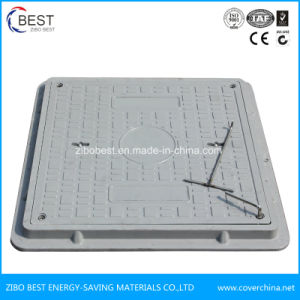 SMC Manhole Cover and Frame with Lock pictures & photos