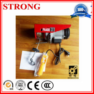 PA Mini Electric Wire Rope Hoist (PA200-1000) pictures & photos