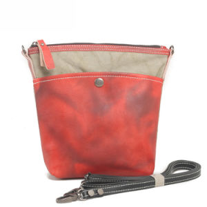 Waterproof Canvas Girl Outdoor Shoulder Bag (RS-6008) pictures & photos